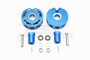 ALUMINUM PENDULUM WHEEL KNUCKLE AXLE WEIGHT + 21MM HEX ADAPTER -14PC SET				 - SCX023A-B