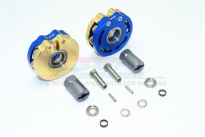 BRASS PENDULUM WHEEL KNUCKLE AXLE WEIGHT WITH ALLOY LID + 21MM HEX ADAPTER -14PC SET				 - SCX023AX-B
