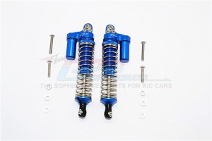 ALUMINIUM FRONT/REAR L-SHAPE SHOCKS (92MM) - 1PR SET - SCX2092F/R/L-B-S-BEBK