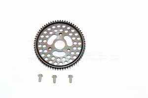 STEEL MAIN GEAR(65T)-1PC - SEMX2065T-BK