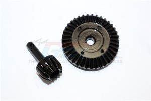 HARD STEEL GEAR SET FOR DIFFERENTIAL  ASSEMBLY - 2PCS - SMJ1202-BK