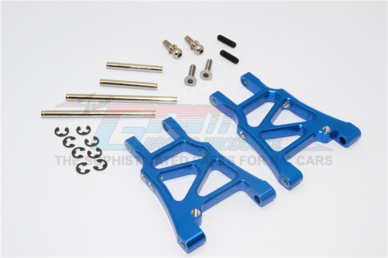 ALLOY REAR ARM WITH SCREWS & PINS &  E-CLIPS - 1PR SET - SP2056-B