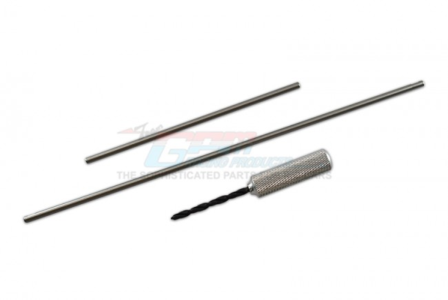 GPM Racing Stainless Steel Front+rear Sway Bars -3pc Set