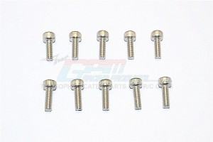 SUS304 STAINLESS STEEL CAP HEAD SOCKET SCREWS M4X30MM - 10PCS  - SUS4X30-OC