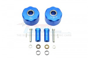 ALUMINUM PENDULUM WHEEL KNUCKLE AXLE WEIGHT + 31MM HEX ADAPTER -14PC SET				 - SW023B-B