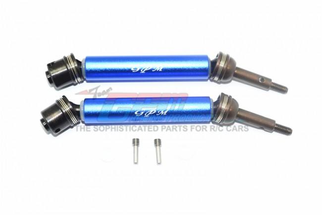 GPM Racing Harden Steel #45 Rear Axle W. Alloy Body -6pc Set Blue