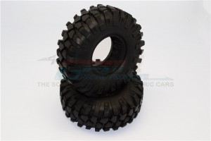 1.9' RUBBER TIRES WITH FOAM INSERTS (OUTER DIAMETER 96MM, TIRE WIDTH 37MM) - 1PR - TIRE1937-OC