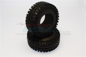 1.9'' RUBBER TIRES WITH FOAM INSERTS (OUTER DIAMETER 114MM, TIRE WIDTH 44MM) - 1PR - TIRE1944-OC