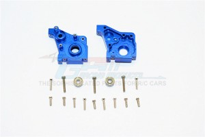 ALLOY REAR GEAR BOX-1SET (INCLUDE BEARING 2x5x2.5mm-2PCS & 3x6x2.5mm-2PCS) - TM038-B