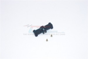 ALLOY STEERING TIE ROD WITH SCREWS  - 1PC SET - TM049-BK