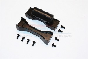 ALLOY MIDDLE CHASSIS MOUNT - 3PCS SET (FOR SCANIA R620) - TRU009SC-BK