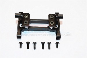 ALLOY REAR CHASSIS MOUNT WITH SCREWS - 1PR SET (FOR KING HAULE /GLOBE LINER /FORD AEROMAX /SCANIA R6 - TRU010-BK
