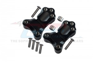 ALUMINIUM FRONT SHOCK MOUNT - 2PCS SET - TRU028-BK