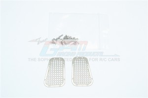 TRX4 STAINLESS STEEL FENDER VENT (GRID PATTERN) -34PC SET - TRX4ZSP11A-OC