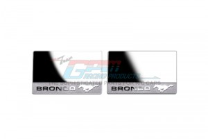 SCALE ACCESSORIES: WING MIRRORS FOR TRX-4 FORD BRONCO -2PC SET	 - TRX4ZSP35-OC
