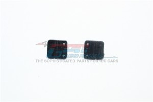 SCALE ACCESSORIES: RUBBER DOOR HINGES FOR TRX-4 DEFENDER -2PC SET - TRX4ZSP37-BK