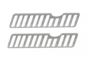 SCALE ACCESSORIES: FENDER VENT FOR TRX-4 FORD BRONCO-2PC SET - TRX4ZSP39-OC