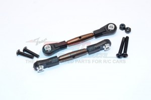 SPRING STEEL REAR UPPER TIE ROD WITH  PLASTIC ENDS - 1PR - TT2B057P-OC-BEBK