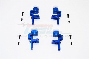 ALUMINIUM FRONT & REAR BODY POST MOUNT WITH 12MM MAGNET - 4PCS SET - TT2T201FR-B