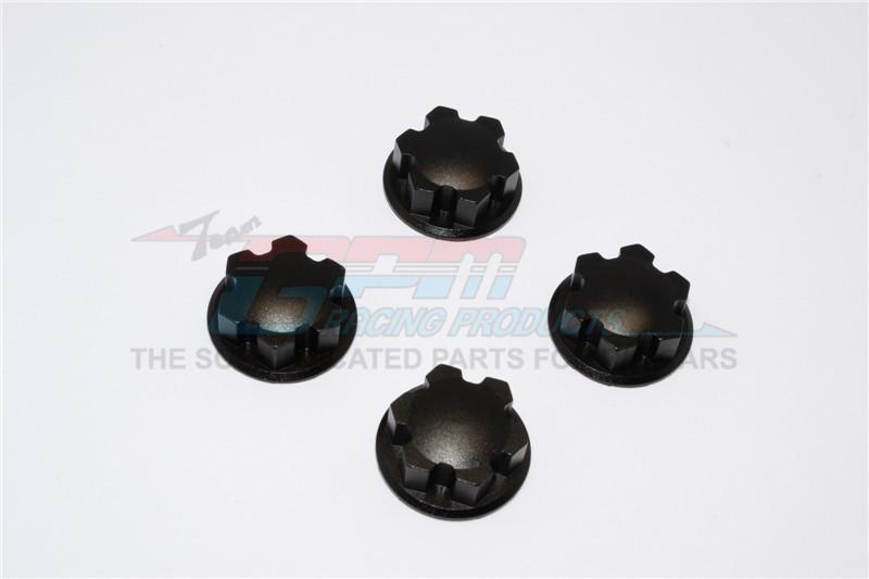 GPM Racing Aluminium Wheel Locker - 4pcs Black