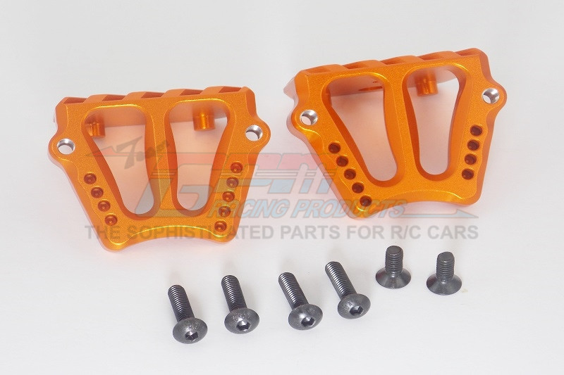 GPM Racing Aluminium Motor Heatsink Mount - 1set Orange