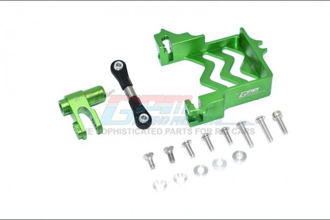 GPM Racing Alu Servo Mount +stainless Steel Trod+25t Alu Srvhrn -16pcs