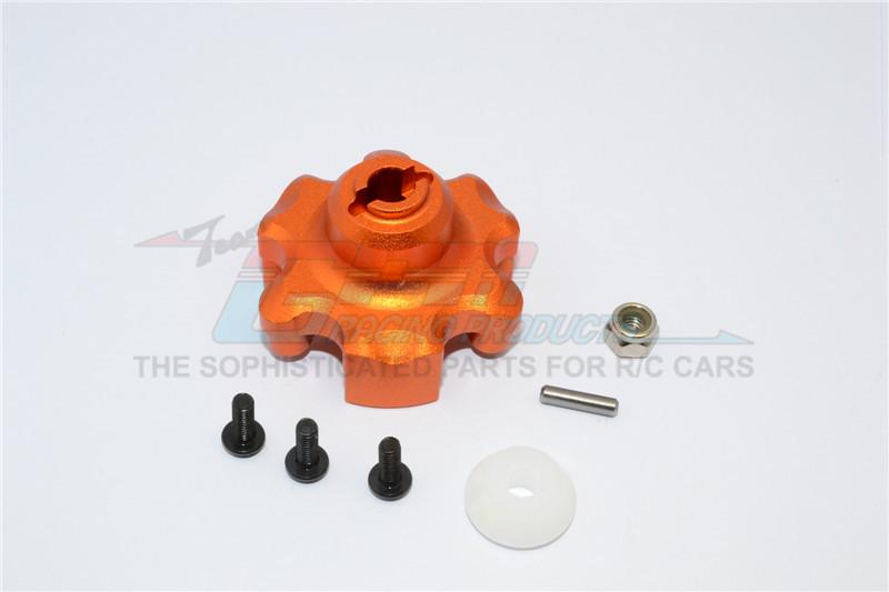 GPM Racing Aluminium Spur Gear Adapter - 1pc Set