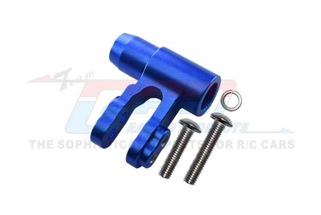 GPM Racing Aluminium Steering Post - 1pc Set Blue