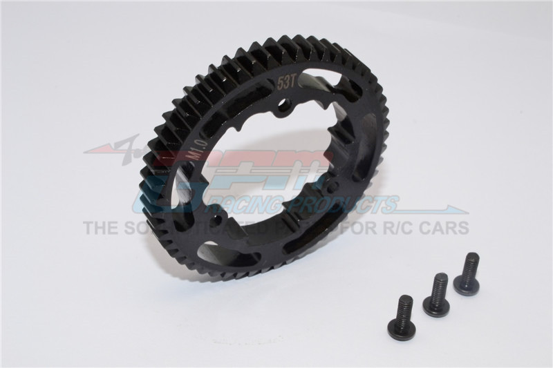 GPM Racing Steel Spur Gear 53t1pc  Only+txm035&txm015ts/16ts/17ts/18ts