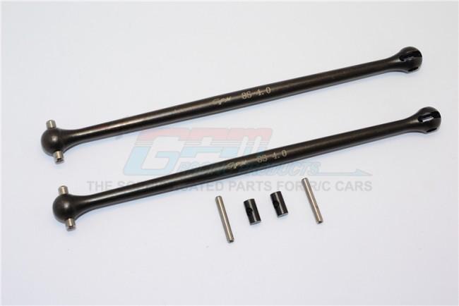 GPM Racing Steel #45 Dogbone-6pc Set Black