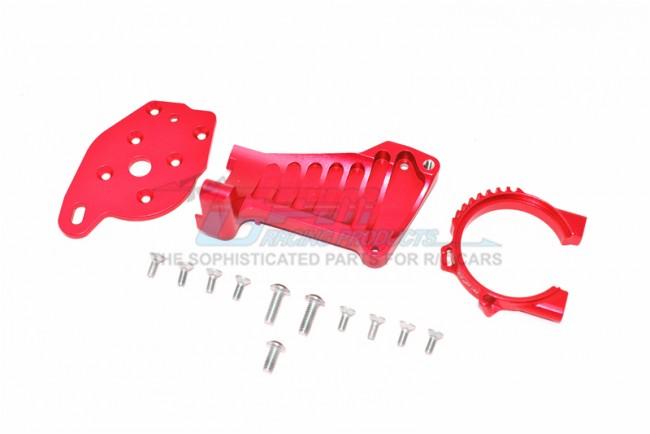 GPM Racing Aluminum Motor Mount -14pc Set Red