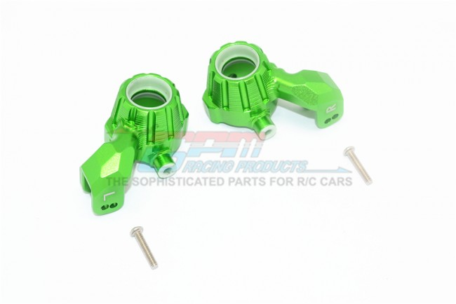 GPM Racing Aluminum Front Knuckle Arms -4pc Set Green