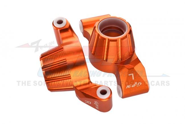 GPM Racing Aluminum Rear Knuckle Arm -2pc Set Orange
