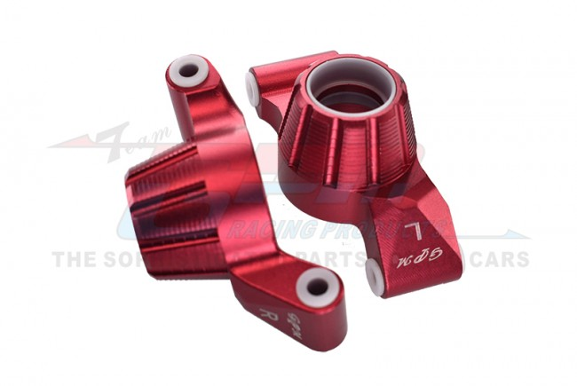 GPM Racing Aluminum Rear Knuckle Arm -2pc Set Red