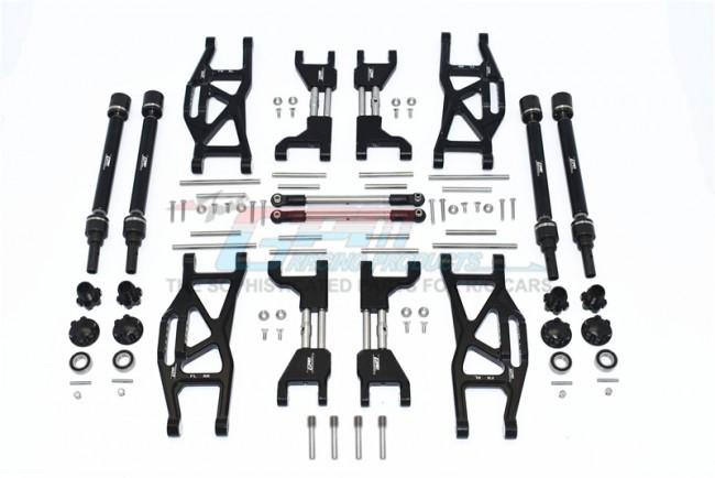 GPM Racing Alu F&r Upr+lwr Arms+f&r Adj Cvd+st Trod Widening Kit (88)
