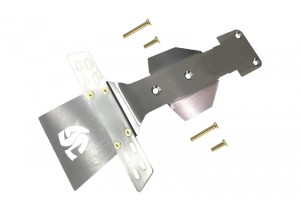 STAINLESS STEEL FRONT SKID PLATE -5PC SET - UDRZSP5-OC