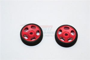 ALLOY FRONT SINKAGE RIMS (STAR) WITH FOAM TIRES FOR XM, XME - 1PR - XME0503FGF-R