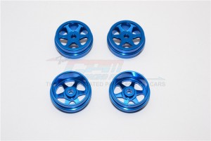 ALLOY FRONT & REAR SINKAGE RIMS (6 POLES) - 4PCS (RIDGE) - XME0603F+RO-B