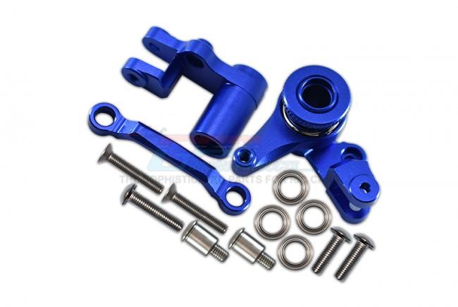 GPM Racing Alu Steering Assembly W. Bearings&stainless Steel Screws1set