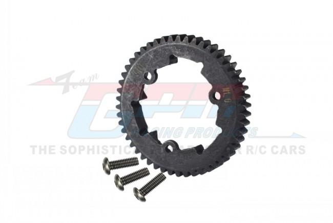 GPM Racing Steel Spur Gear 50t (M1.0) - 1pc Black