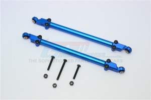 ALLOY REAR ADJUSTABLE CHASSIS ROD -8PC SET	 - YT014N-B