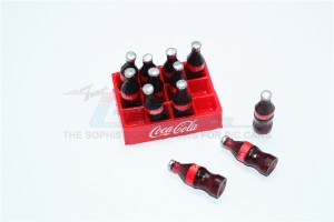 SCALE ACCESSORIES FOR CRAWLERS: A RACK OF COCA COLA -13PC SET		 - ZSP018-OC