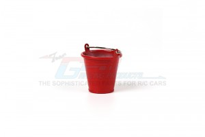 SCALE ACCESSORIES: METAL WATER BUCKET FOR CRAWLERS (SMALL) -1PC - ZSP019-R