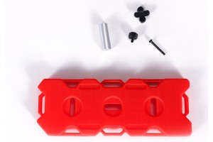 SCALE ACCESSORIES: AUXILIARY PLASTIC FUEL TANK FOR CRAWLERS -5PC SET - ZSP036-R