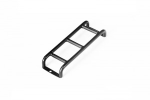 SCALE ACCESSORIES: STAINLESS STEEL LADDER -1PC			 - ZSP041-BK