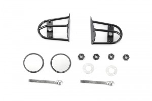 SCALE ACCESSORIES: WING MIRRORS FOR 1:10 SCALE -12PC SET	 - ZSP044-BK